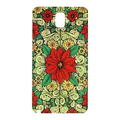 Calsidyrose Groovy Christmas Samsung Galaxy Note 3 N9005 Hardshell Back Case by Celenk