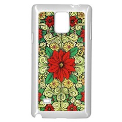 Calsidyrose Groovy Christmas Samsung Galaxy Note 4 Case (white) by Celenk