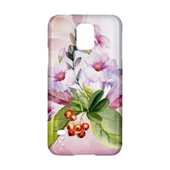 Wonderful Flowers, Soft Colors, Watercolor Samsung Galaxy S5 Hardshell Case  by FantasyWorld7