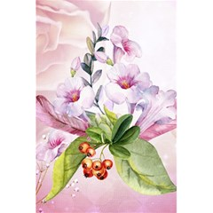 Wonderful Flowers, Soft Colors, Watercolor 5 5  X 8 5  Notebooks by FantasyWorld7
