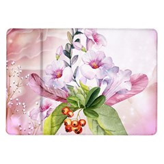Wonderful Flowers, Soft Colors, Watercolor Samsung Galaxy Tab 10 1  P7500 Flip Case by FantasyWorld7