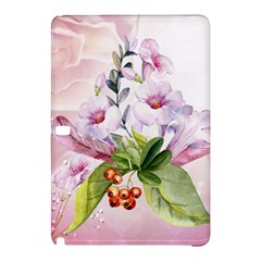 Wonderful Flowers, Soft Colors, Watercolor Samsung Galaxy Tab Pro 10 1 Hardshell Case by FantasyWorld7