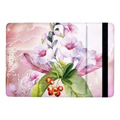 Wonderful Flowers, Soft Colors, Watercolor Samsung Galaxy Tab Pro 10 1  Flip Case by FantasyWorld7