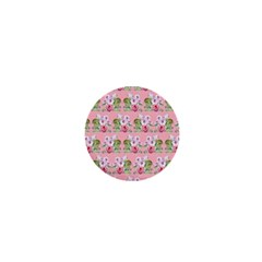 Floral Pattern 1  Mini Magnets by SuperPatterns