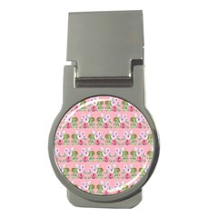 Floral Pattern Money Clips (round)  by SuperPatterns