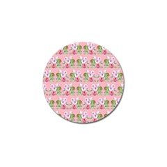 Floral Pattern Golf Ball Marker by SuperPatterns