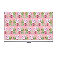 Floral Pattern Business Card Holders by SuperPatterns