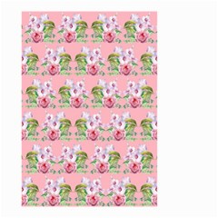 Floral Pattern Small Garden Flag (two Sides) by SuperPatterns
