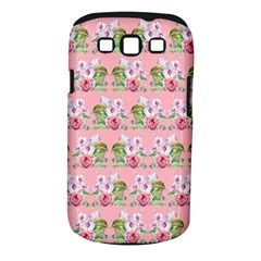 Floral Pattern Samsung Galaxy S Iii Classic Hardshell Case (pc+silicone) by SuperPatterns