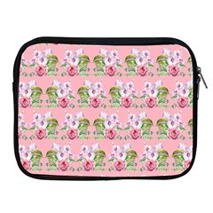Floral Pattern Apple Ipad 2/3/4 Zipper Cases by SuperPatterns