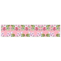 Floral Pattern Flano Scarf (small)  by SuperPatterns