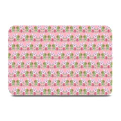 Floral Pattern Plate Mats by SuperPatterns