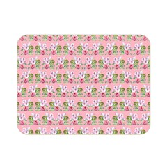 Floral Pattern Double Sided Flano Blanket (mini)  by SuperPatterns