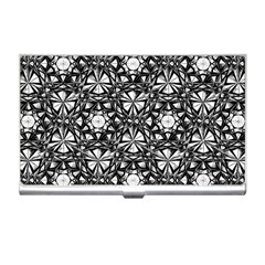 Star Crystal Black White 1 And 2 Business Card Holders by Cveti
