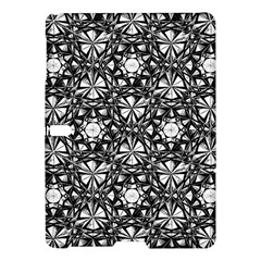Star Crystal Black White 1 And 2 Samsung Galaxy Tab S (10 5 ) Hardshell Case  by Cveti