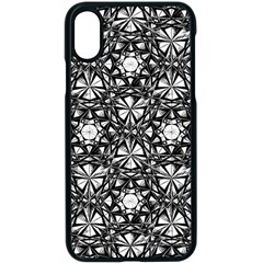 Star Crystal Black White 1 And 2 Apple Iphone X Seamless Case (black) by Cveti