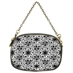 Star Crystal Black White 1 And 2 Chain Purses (one Side)  by Cveti