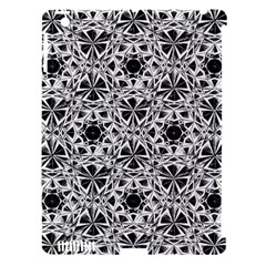 Star Crystal Black White 1 And 2 Apple Ipad 3/4 Hardshell Case (compatible With Smart Cover) by Cveti