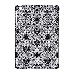 Star Crystal Black White 1 And 2 Apple Ipad Mini Hardshell Case (compatible With Smart Cover) by Cveti