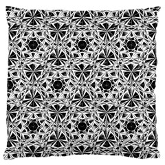 Star Crystal Black White 1 And 2 Standard Flano Cushion Case (one Side) by Cveti