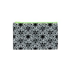 Star Crystal Black White 1 And 2 Cosmetic Bag (xs) by Cveti