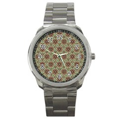 Crystal Star 1  Sport Metal Watch by Cveti