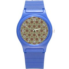 Crystal Star 1  Round Plastic Sport Watch (s) by Cveti
