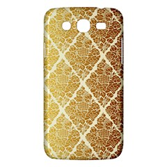 Vintage,gold,damask,floral,pattern,elegant,chic,beautiful,victorian,modern,trendy Samsung Galaxy Mega 5 8 I9152 Hardshell Case  by 8fugoso