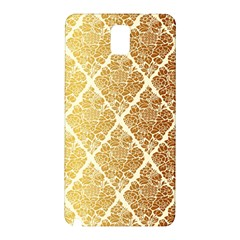 Vintage,gold,damask,floral,pattern,elegant,chic,beautiful,victorian,modern,trendy Samsung Galaxy Note 3 N9005 Hardshell Back Case by 8fugoso