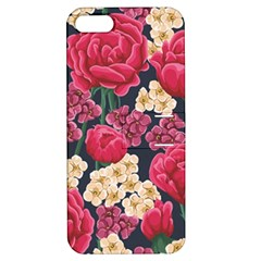 Pink Roses And Daisies Apple Iphone 5 Hardshell Case With Stand by allthingseveryday