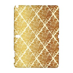 Vintage,gold,damask,floral,pattern,elegant,chic,beautiful,victorian,modern,trendy Galaxy Note 1 by 8fugoso