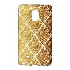 Vintage,gold,damask,floral,pattern,elegant,chic,beautiful,victorian,modern,trendy Galaxy Note Edge by 8fugoso