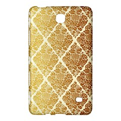 Vintage,gold,damask,floral,pattern,elegant,chic,beautiful,victorian,modern,trendy Samsung Galaxy Tab 4 (8 ) Hardshell Case  by 8fugoso