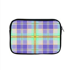 Blue And Yellow Plaid Apple Macbook Pro 15  Zipper Case by allthingseveryday