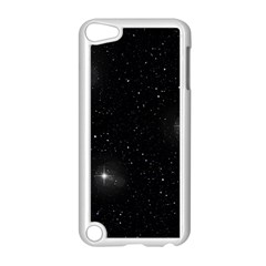 Starry Galaxy Night Black And White Stars Apple Ipod Touch 5 Case (white) by yoursparklingshop