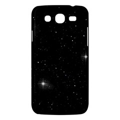 Starry Galaxy Night Black And White Stars Samsung Galaxy Mega 5 8 I9152 Hardshell Case  by yoursparklingshop
