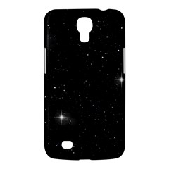 Starry Galaxy Night Black And White Stars Samsung Galaxy Mega 6 3  I9200 Hardshell Case by yoursparklingshop