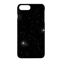 Starry Galaxy Night Black And White Stars Apple Iphone 8 Plus Hardshell Case by yoursparklingshop