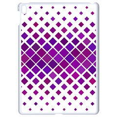 Pattern Square Purple Horizontal Apple Ipad Pro 9 7   White Seamless Case by Celenk