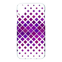 Pattern Square Purple Horizontal Apple Iphone X Hardshell Case by Celenk