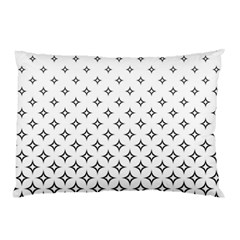 Star Pattern Decoration Geometric Pillow Case by Celenk