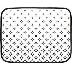 Star Pattern Decoration Geometric Fleece Blanket (mini)