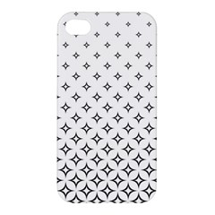Star Pattern Decoration Geometric Apple Iphone 4/4s Hardshell Case by Celenk