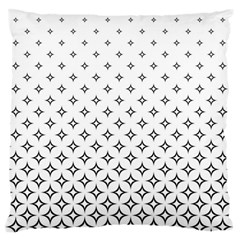 Star Pattern Decoration Geometric Standard Flano Cushion Case (two Sides) by Celenk