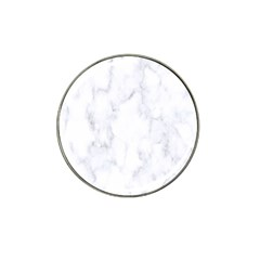 Marble Texture White Pattern Hat Clip Ball Marker (10 Pack) by Celenk