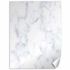 Marble Texture White Pattern Canvas 36  X 48   by Celenk