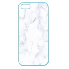 Marble Texture White Pattern Apple Seamless Iphone 5 Case (color) by Celenk