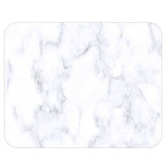 Marble Texture White Pattern Double Sided Flano Blanket (medium)  by Celenk