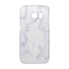 Marble Texture White Pattern Galaxy S6 Edge by Celenk