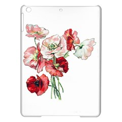 Flowers Poppies Poppy Vintage Ipad Air Hardshell Cases by Celenk